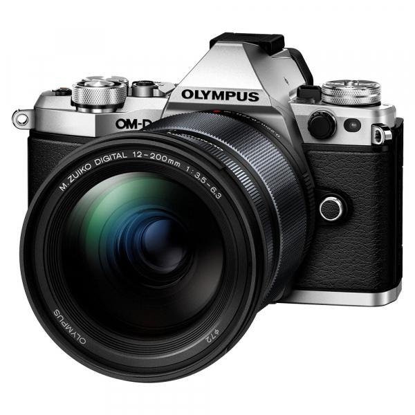 Olympus OM-D E-M5 Mark III - argintiu kit Olympus 12-200mm f/3.5-6.3 [0]