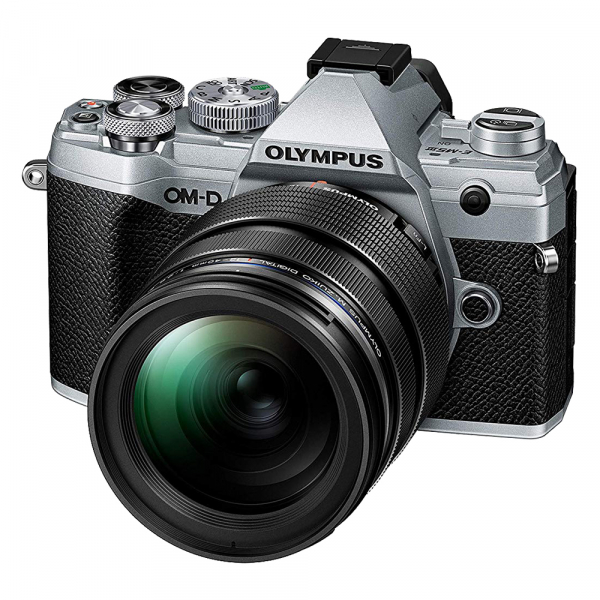 Olympus OM-D E-M5 Mark III - argintiu kit Olympus 12-40mm f/2.8 PRO 0