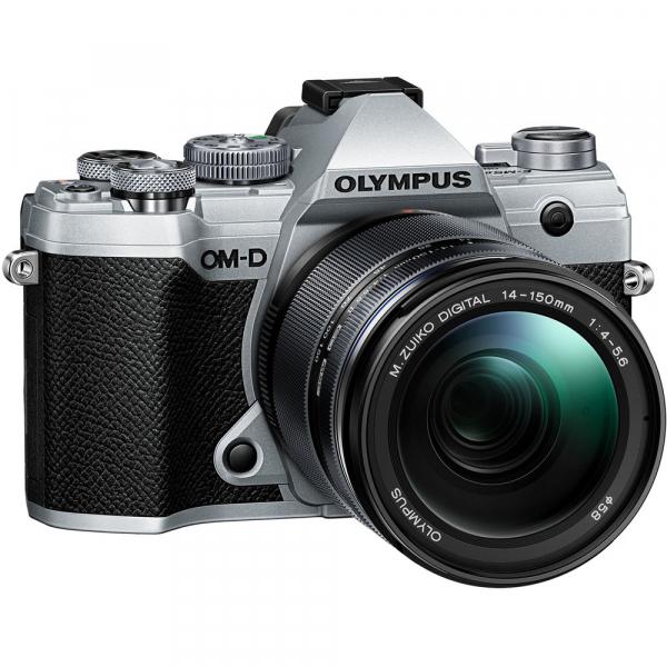 Olympus OM-D E-M5 Mark III - argintiu kit Olympus 14-150mm f/4-5.6 II [0]
