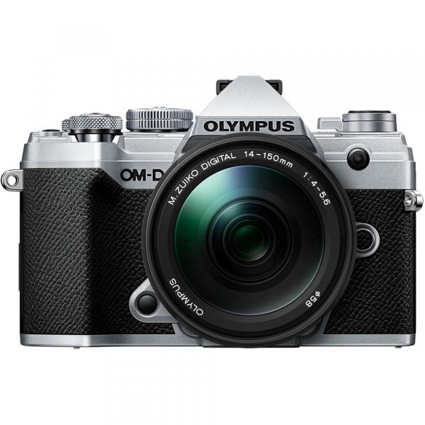 Olympus OM-D E-M5 Mark III - argintiu kit Olympus 14-150mm f/4-5.6 II [1]