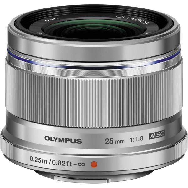 Olympus OM-D E-M5 Mark III body - argintiu  kit cu M.Zuiko 25mm f/1.8 si cu ECG-5 Grip Extern [5]