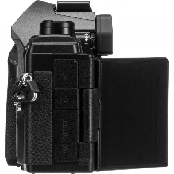 Olympus OM-D E-M5 Mark III body - negru kit cu M.Zuiko 25mm f/1.8 si cu ECG-5 Grip Extern [6]