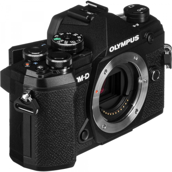 Olympus OM-D E-M5 Mark III body - negru kit cu M.Zuiko 25mm f/1.8 si cu ECG-5 Grip Extern [1]