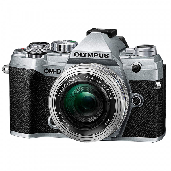Olympus OM-D E-M5 Mark III kit Olympus 14-42mm f/3.5-5.6 EZ ED MSC Pancake - argintiu 0
