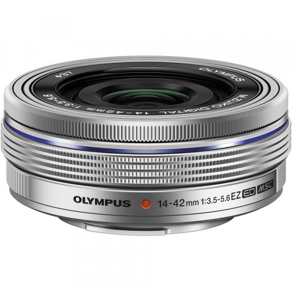 Olympus OM-D E-M5 Mark III kit Olympus 14-42mm f/3.5-5.6 EZ ED MSC Pancake - argintiu 5
