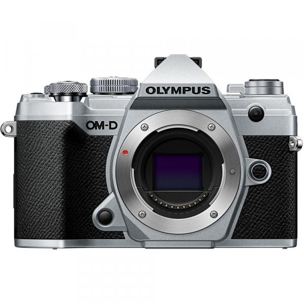 Olympus OM-D E-M5 Mark III kit Olympus 14-42mm f/3.5-5.6 EZ ED MSC Pancake - argintiu 1