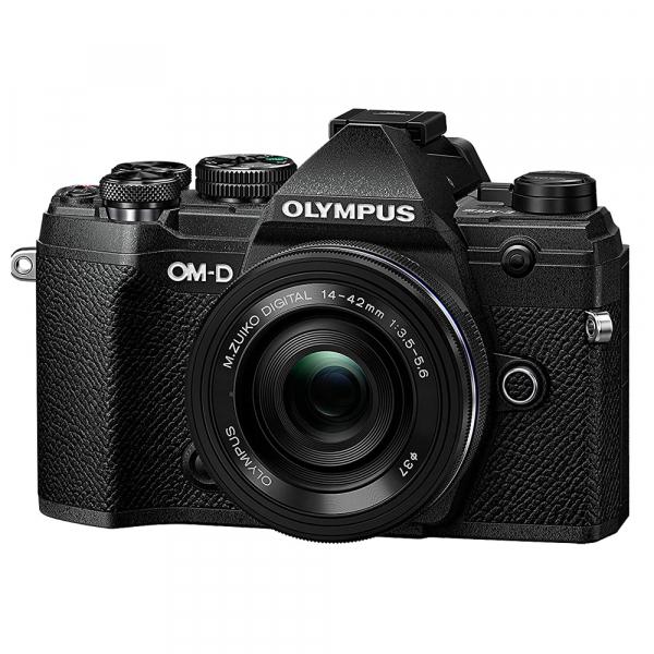 Olympus OM-D E-M5 Mark III nergu kit cu M.Zuiko Pancake 14-42mm f/3.5-5.6 EZ ED MSC si M.Zuiko 25mm f/1.8 si cu ECG-5 Grip Extern [2]