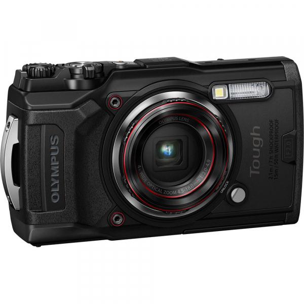 Olympus TG-6 negru - aparat foto compact subacvatic 0
