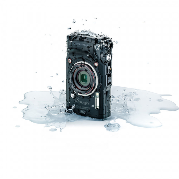 Olympus TG-6 negru - aparat foto compact subacvatic 1