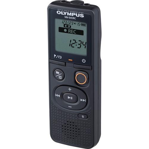 Olympus VN-541PC  si ME52 , reportofon [2]