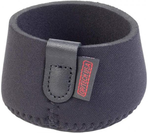 """OP/TECH 8001262 3"""" Mini Hood Hat - Black  1"""