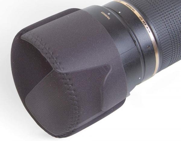"""OP/TECH 8001262 3"""" Mini Hood Hat - Black  4"""