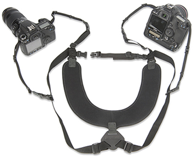"OP/TECH Dual Harness 3/8"" X-Long - Ham doua aparate 3"