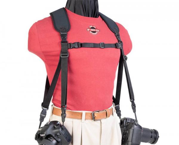 OP/TECH Dual Harness Uni-Loop Regular - Ham doua aparate 1