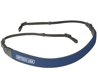 "OP/TECH  Fashion Strap™ - 3/8"" Navy - Curea de umar 0"