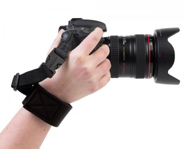 OP/TECH Gotcha Wrist Strap™ Black - Curea de mana 1