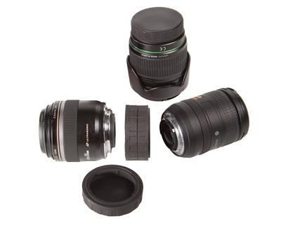 OP/TECH Lens Mount Cap Double Canon - Capac dublu pentru montura obiective Canon [0]