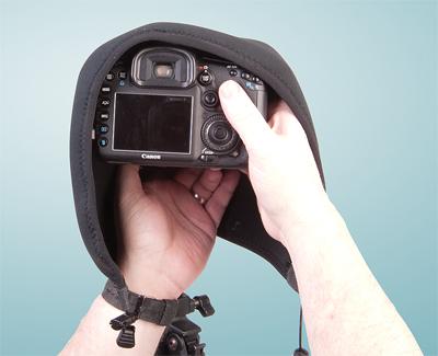 OP/TECH Mega Shoot Cover™ MSC2 -Black 7