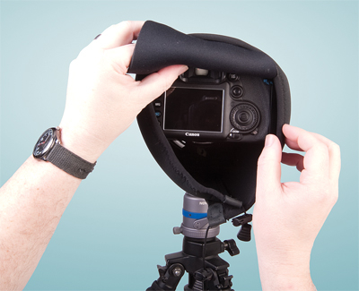 OP/TECH Mega Shoot Cover™ MSC2 -Black 5