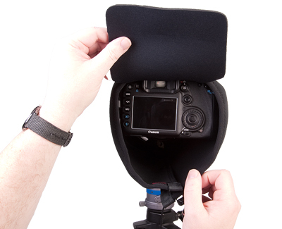 OP/TECH Mega Shoot Cover™ MSC2 -Black 6
