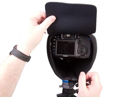 OP/TECH Mega Shoot Cover™ MSC3 -Black [6]
