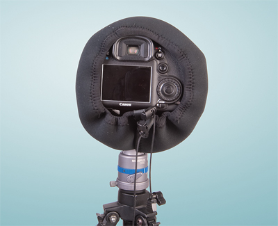 OP/TECH Mega Shoot Cover™ MSC4 -Black 1
