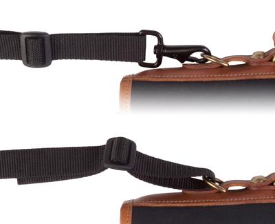 OP/TECH Mini S.O.S. Strap™  Black -  Curea de umar pentru geanta/trepied 2
