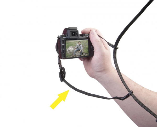OP/TECH Mirrorless Sling™ Mini-QD black - Curea de umar aparat mirrorless 3