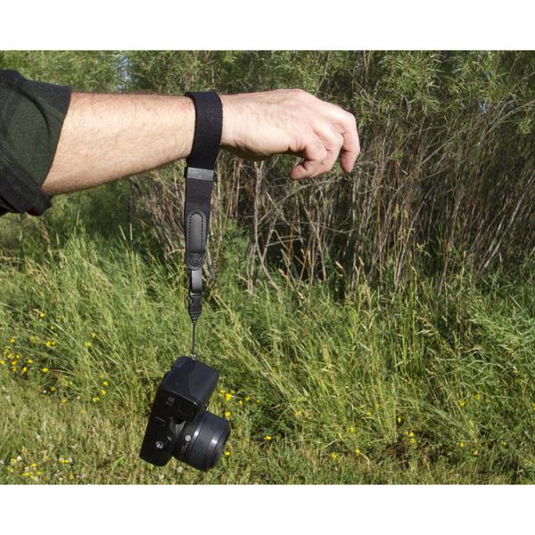 OP/TECH Mirrorless Wrist Strap Black - Curea de mana 2
