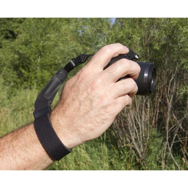 OP/TECH Mirrorless Wrist Strap Black - Curea de mana 0