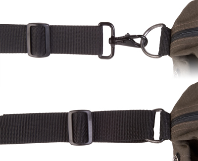 OP/TECH S.O.S. Strap™ Black - Curea de umar pentru geanta/trepied 1