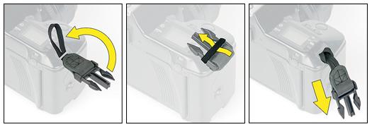 OP/TECH  SLR Wrist Strap™ Steel - Curea de mana 1
