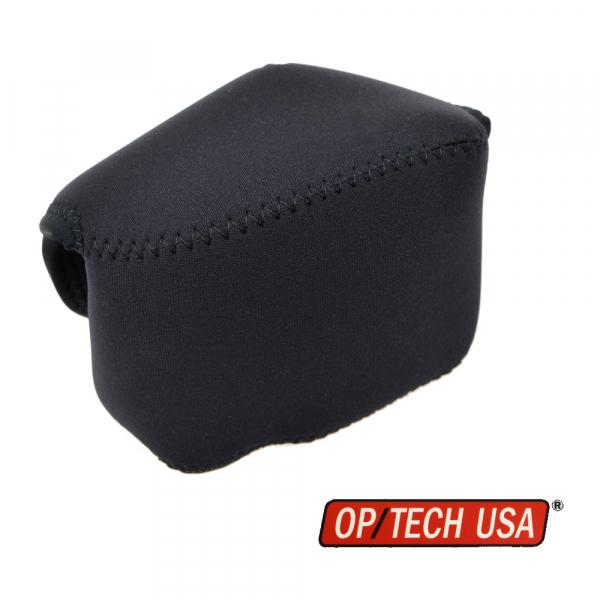 OP/TECH Soft Pouch™ - Body Cover Midsize Black- husa neopren neagra 0