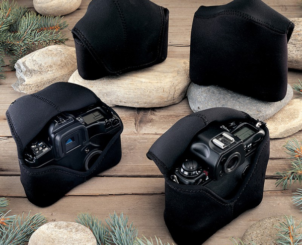 OP/TECH Soft Pouch™ - Body Cover Midsize Black- husa neopren neagra 8