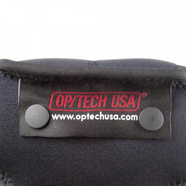 OP/TECH Soft Pouch™ D-M 4/3 Black - husa neopren neagra 2