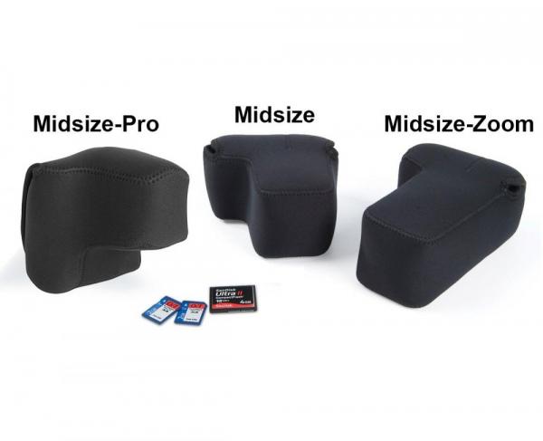 OP/TECH Soft Pouch™ D-Midsize - husa neopren neagra 2