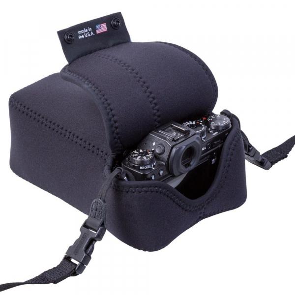 OP/TECH Soft Pouch™ D-Midsize Zoom - husa neopren neagra 5