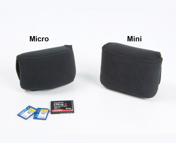 OP/TECH Soft Pouch™ D-Mini - husa neopren neagra [3]