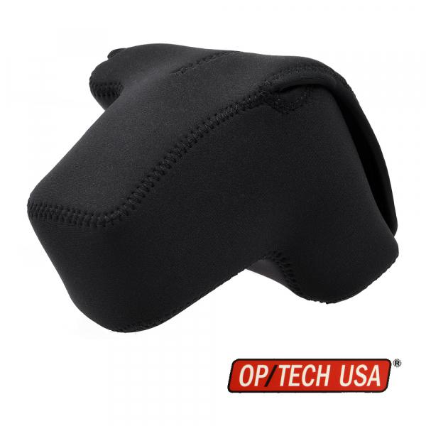 OP/TECH Soft Pouch™ D-PRO Black - husa neopren neagra 0