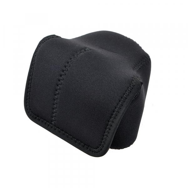OP/TECH Soft Pouch™ D-Shortie Black - husa neopren neagra [1]