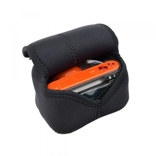 OP/TECH Soft Pouch™ D-Shortie Black - husa neopren neagra [3]