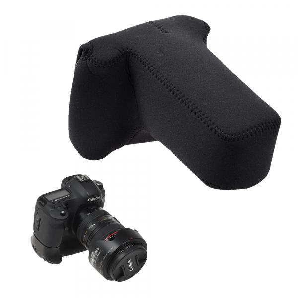 OP/TECH Soft Pouch™ D-SLR Zoom - husa neopren neagra 1