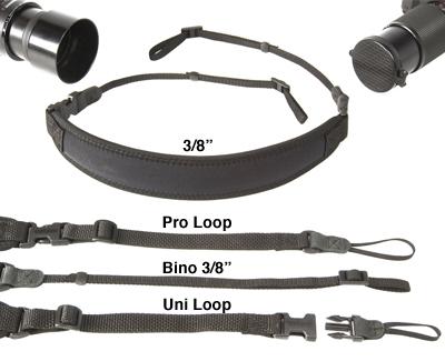 OP/TECH Super Classic Strap Uni Loop Black - Curea de umar 1