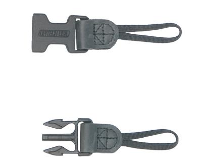 "OP/TECH Utility Strap™ - 3/8"" Black - Curea de umar 2"