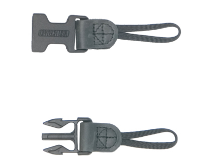 OP/TECH Utility Strap™ - Sling XL Black- Curea de umar ajustabila 2