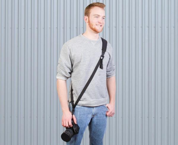 OP/TECH Utility Strap™ - Sling XL Black- Curea de umar ajustabila 0