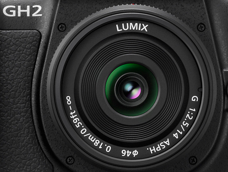 Panasonic 14mm f/2.5 Pancake negru - montura m4/3 (MFT) 1