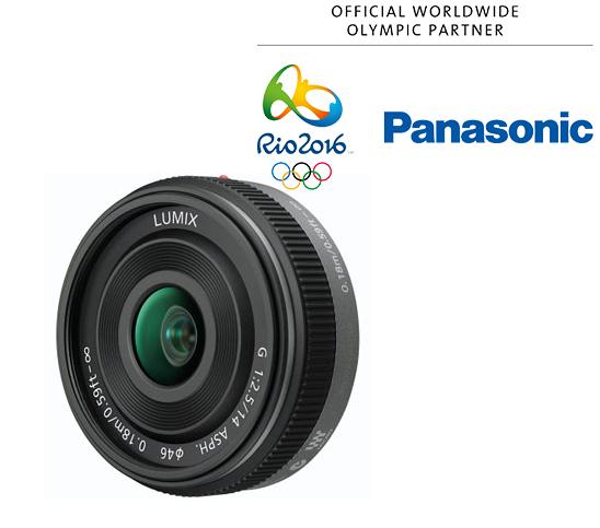 Panasonic 14mm f/2.5 Pancake negru - montura m4/3 (MFT) 0