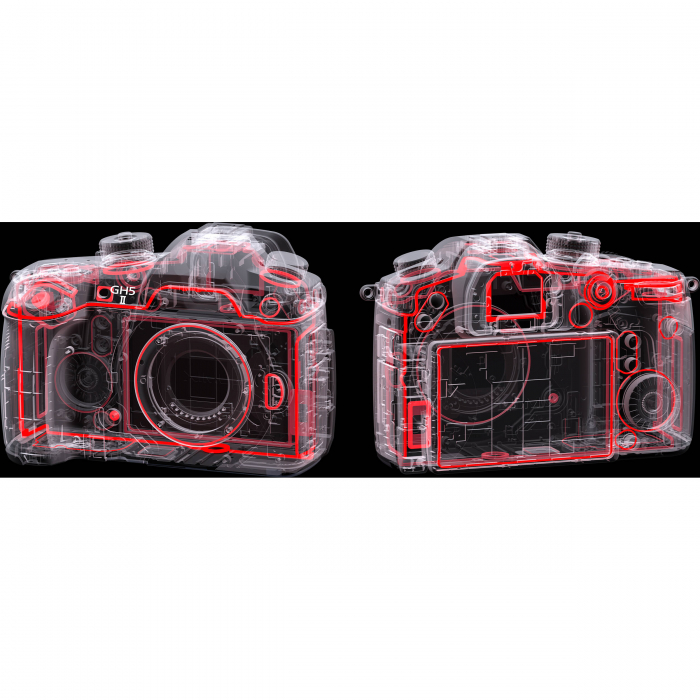 Panasonic  DC-GH5 Mark II negru -  aparat foto mirrorless hibrid - body [10]