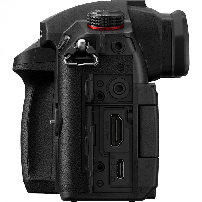 Panasonic  DC-GH5 Mark II negru  -  aparat foto mirrorless hibrid cu obiectiv Lumix G Vario 12-60mm f/3.5-5.6 ASPH. POWER O.I.S [6]